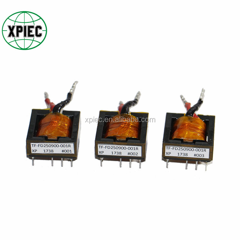 EFD25 High Voltage High Frequency Transformer with Lead Wire