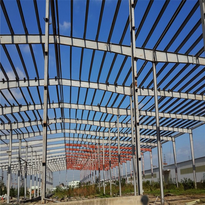 Large Span Steel Grid Structure Warehouse