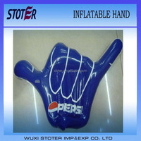 PVC inflatable cheer hand