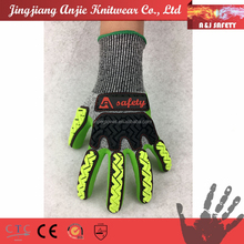 A&J sword fighting and oil rigging cut resistant safety gloves