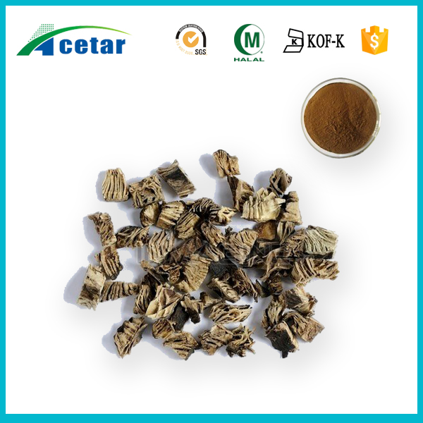 High quality herb extract 2.5%-8%triterpene glycosides black cohosh extract