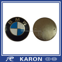 quality wholesale round car logo emblem in metal