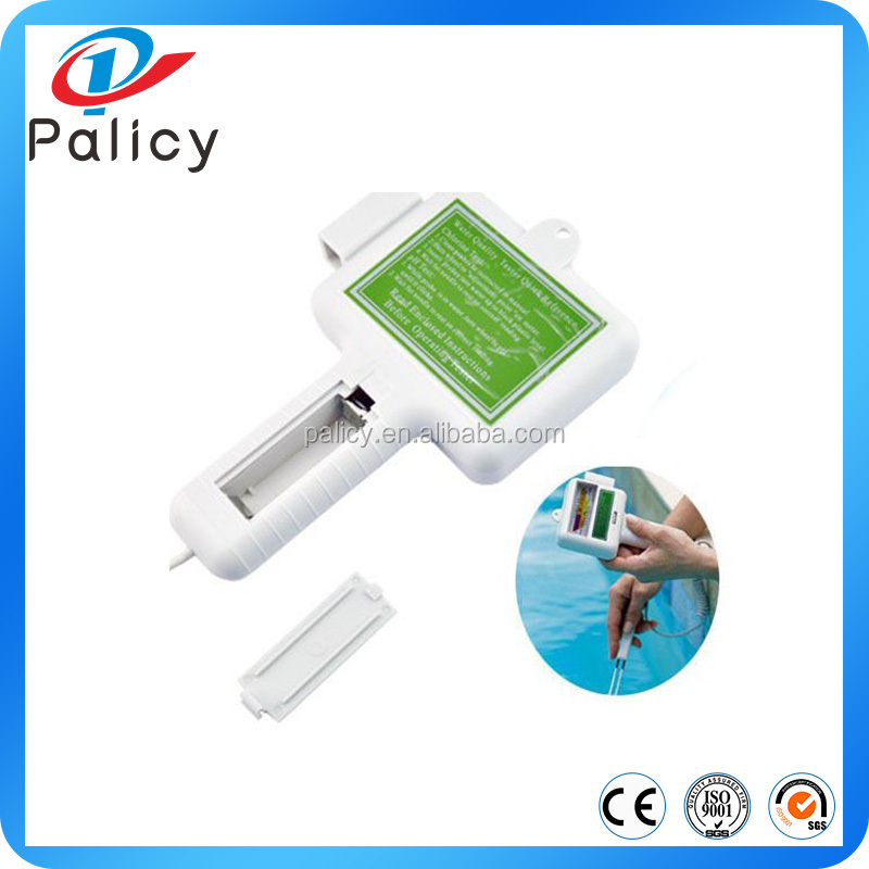 Portable water quality PH/CL2 chlorine testers level metesr PH tester meter