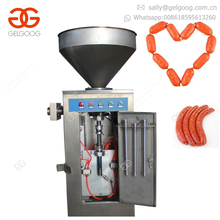Industrial Vertical Silicone Sealant Vacuum Sausage Meat Roll Filling Electric Stuffer Sausage Stuffing Machine For Chicken