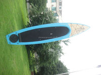 2014 new design good quality cheap epoxy surfboards/fish tail sup board 14' fishing board