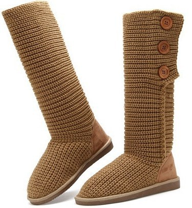 GCE492 knitted with women winter boots wholesale or botas woman
