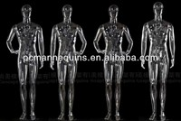 Male mannequin Transparent plastic mannequin male sex dolls for women sex products dress clothing