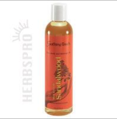 Soothing Touch Bath & Body Oil SandalWood 8 oz