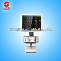 Wall mounted for option---Multi-parameter Modular hospital monitor