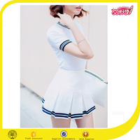 Round collar volleyball uniform designs school-uniform sample girls round neck shirt school sportswear