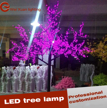 2M Tree Lighting for Holiday Decoration Wedding lights Pink LED Tree
