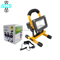 Night searcher Workstar Epistar 10W LED Flood Spot Work Light Portable Rechargeable Camping Lamps