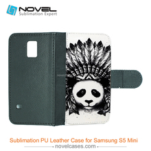 China fashion flip pu leather case for galaxy S5 mini