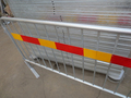 Heavy Duty Loose Foot Pedestrian Barrier with Removable Leg Portable Barrier Railing