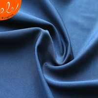 polyester spandex cheap satin fabric