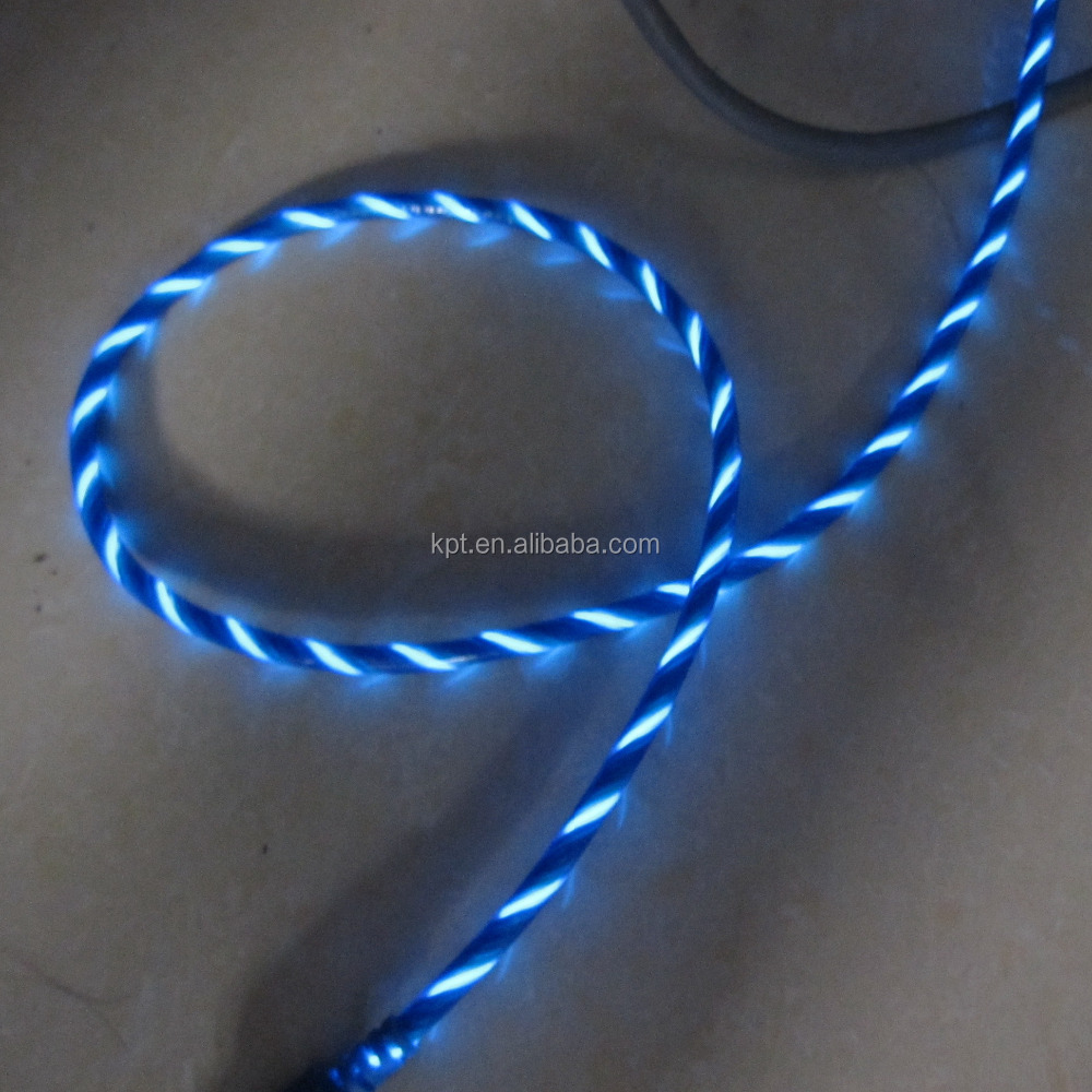El light chasing electric power cable novelty safety
