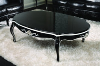 KJ-B1034 black coffee table black and red coffee table turkish coffee tables