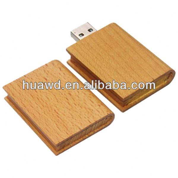 Wooden sb drive, 4g usb flash