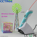 2017 wireless charger low temperature 3D printing pen kids safe 3d printer pen