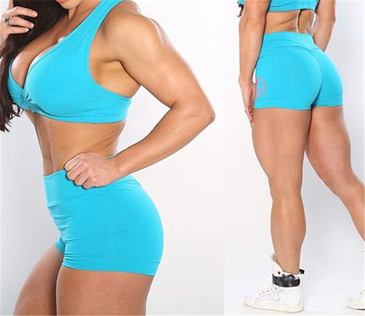Women gym wear <strong>sports</strong> running booty shorts