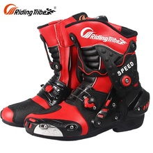 Wholesale Price Modern Work Boots For Motorbike Sportbike Riding mens Riding Motorcycle Shoes Boots Gear Fashion