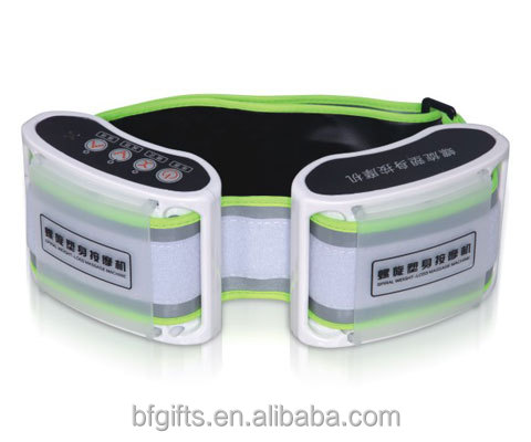 2017 BF-A003 electric body slimming belly massager energy king massager crazy fit beauty shacking belt massager