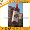Promotional wine bottle inflatable helium balloon F2019