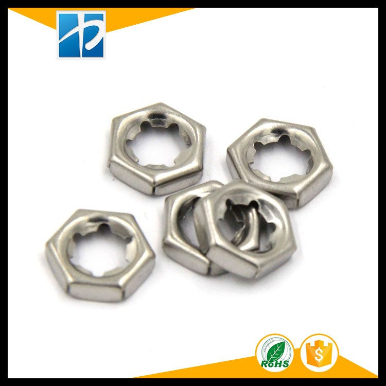 Stainless steel SS304 A4 DIN7967 Self Locking Counter Nuts