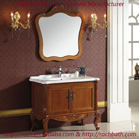 ROCH 116 Best-Selling Classical Antique Bathroom Vanity Cabinet