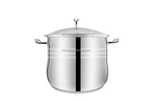 New home & garden Stainless steel pot cooking laser polish kinds of kitchen ware