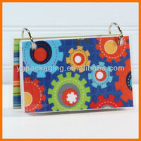3 x 5 Index Card or Note Card Binder packaging of note card