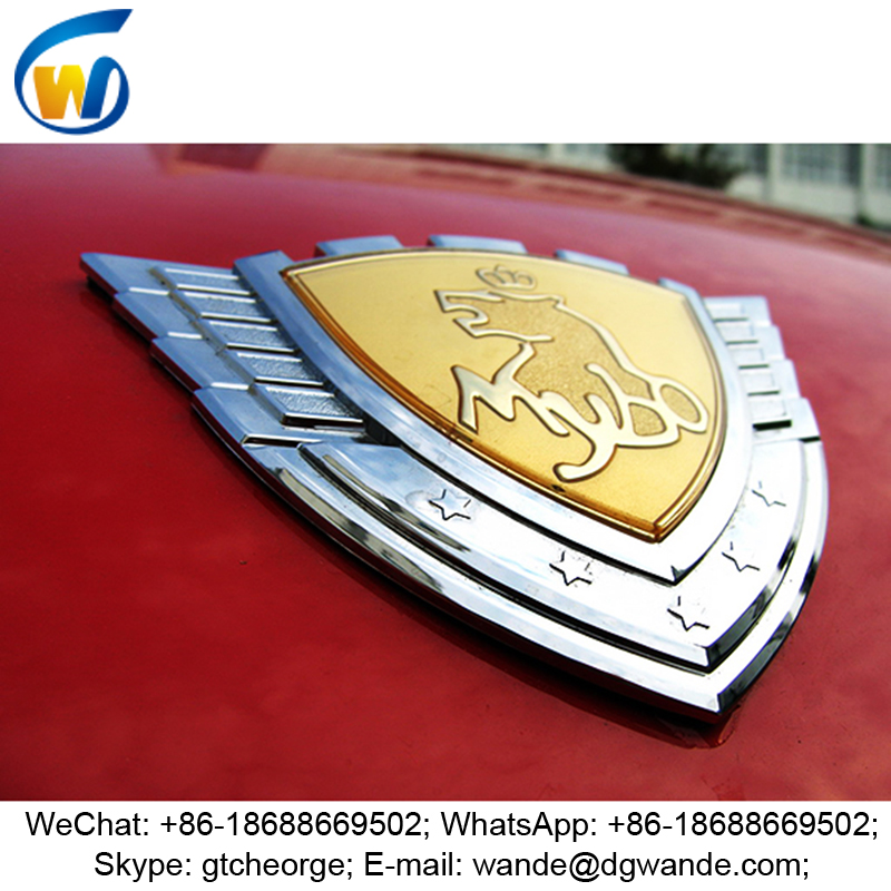 2016 new Europe style custom car logo, car logo and their name, car emblem badge