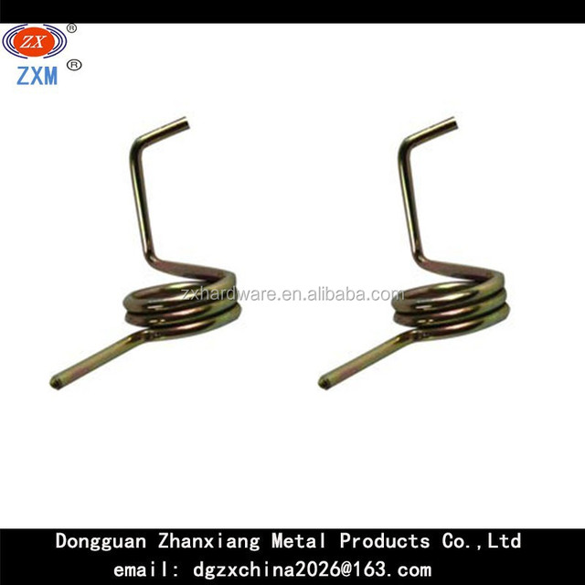 Hot sales! High quality! chrome plated torsion spring made by high carbon steel