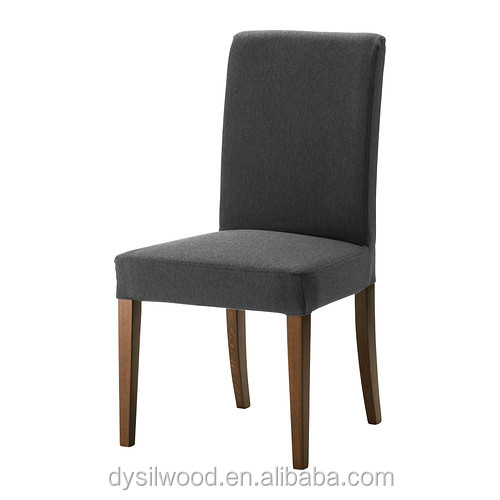 Wood frame wholesale dining chair with fabric cover