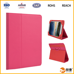 For iPad Mini 4 cover PU leather case available folding & stand tablet cover