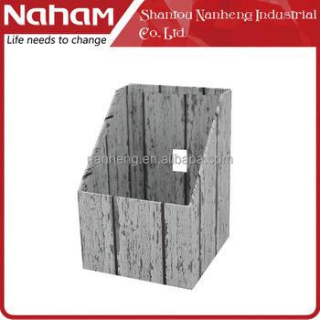 NAHAM White Ancient Wooden Shape Paper CD/DVD Box