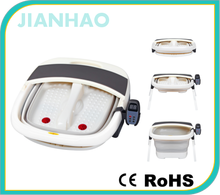 Vibrating electric water foot massage machine