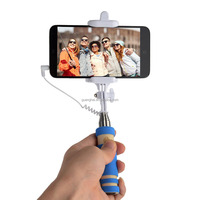 super mini selfie stick monopod with 3.5mm jack cable phone monopod for lenovo s820