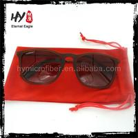 china supplier soft microfiber sunglasses pouch,frame bags with logo,cuatom printed microfiber bags