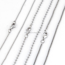 Wholesale fashion long link roll box Chain
