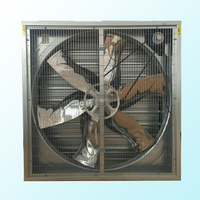 220V ac axial fan big size ventilator exhaust fan box fan