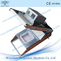 hand held manual plastic cup sealing machine disposable box tray sealer small cup sealing machine