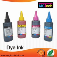 Light light black special waterproof ep dye ink for canon mg 5430 refillable cartridge