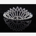 Factory directly new design bridal peagent wedding tiara hair ornament