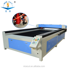 nice cut 1325 CO2 260W cnc laser mixed cutting machine for metal and nonmetal
