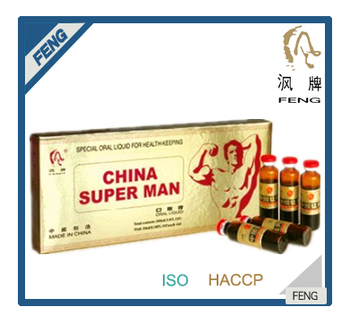 Energy drink of sex china super man