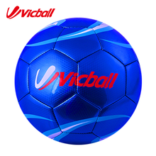 2016 new best official machine stitched 32 panels laser PVC football soccer ball