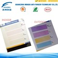 High security of solar discoloration ink