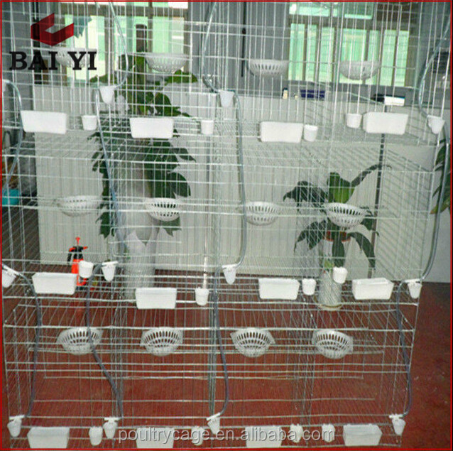 Baiyi Supplier Metal Breeding Cage For Pigeon Transport Hot Sale Online