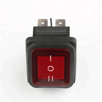 KCD2 free sample on sale illuminated waterproof t8555 t12555 rocker switch